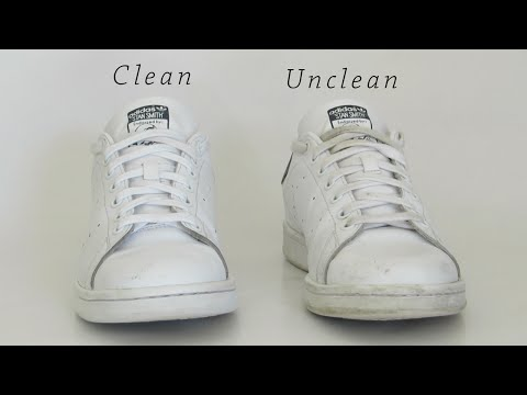 How to clean white shoes | Fast and Easy | Shoe Grooming