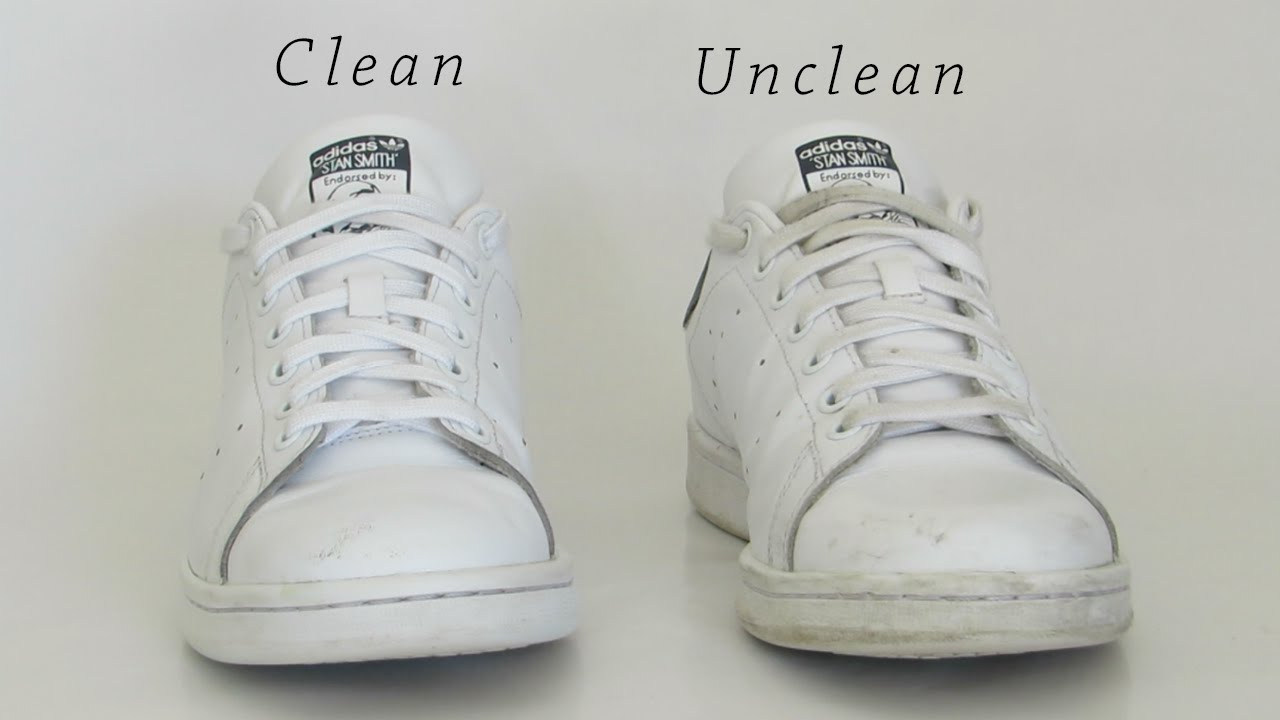 How to clean white shoes | Fast and Easy