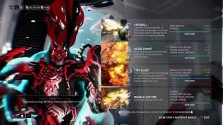 blazing ember prime ccdps build by drrayguns live warframe ps4 broadcast