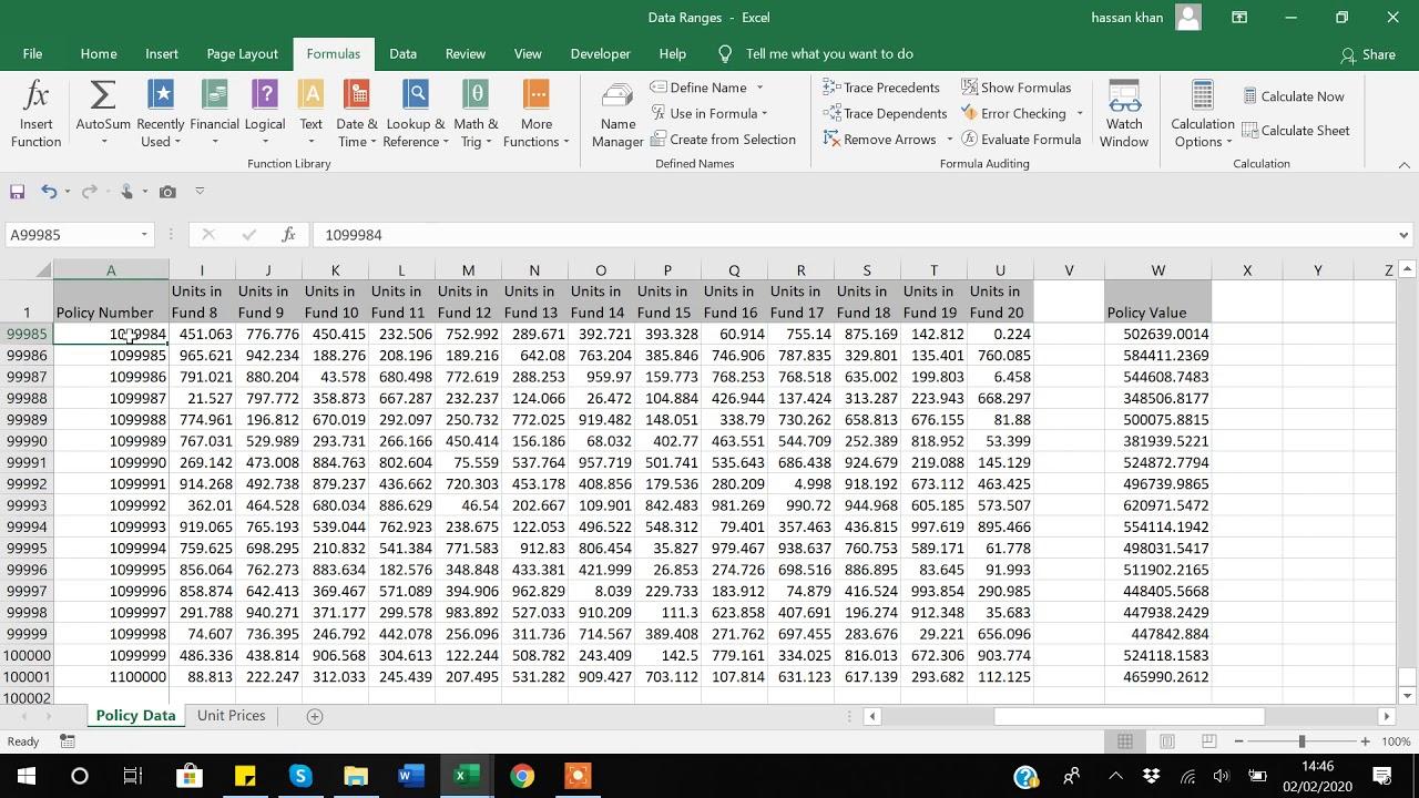 22. Range Function in Excel VBA. - YouTube
