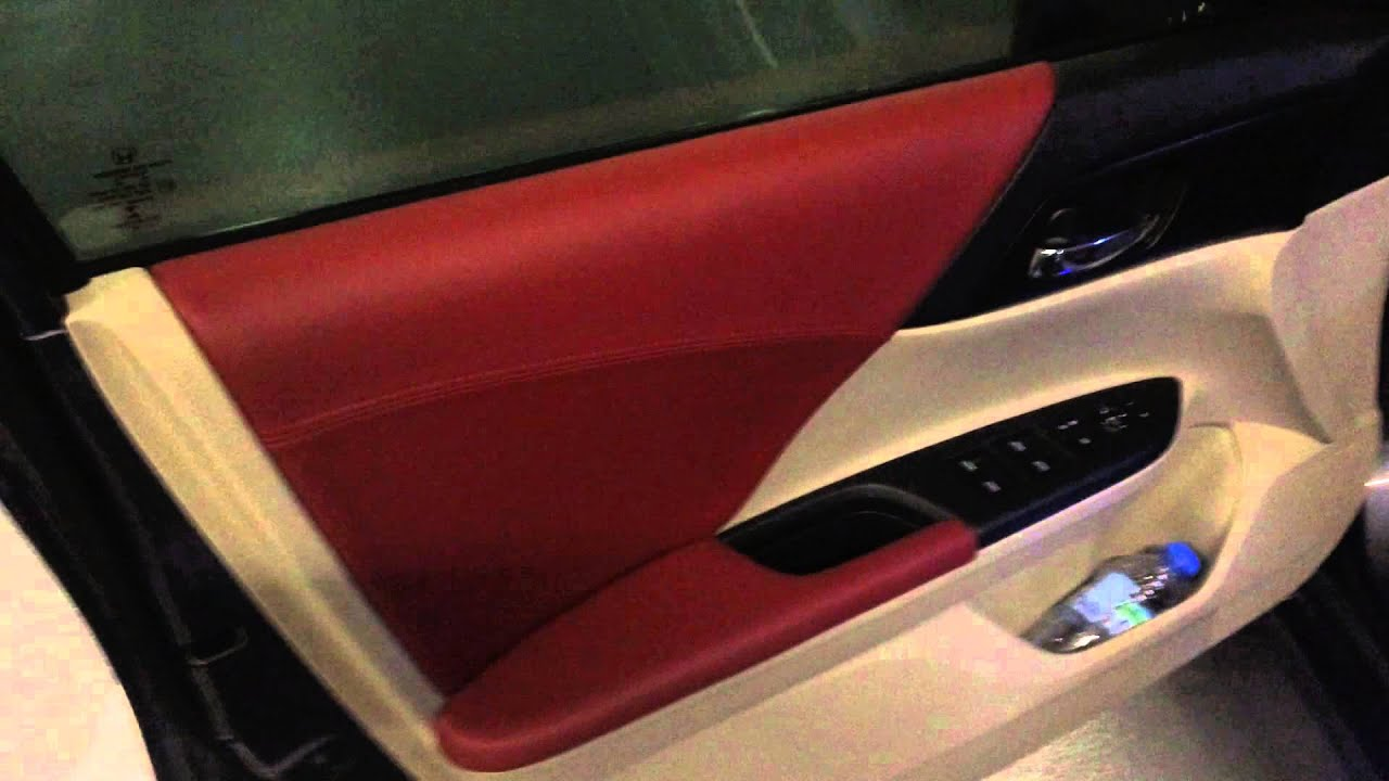 Honda Accord 2014 Red Leather Seat