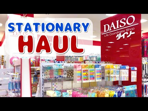 Daiso Stationery Haul | Easter Washi Tape, Pens, And More! | Japanese Dollar Store