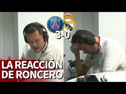PSG 3 Real Madrid 0 | La reacción de Roncero a la debacle del Madrid en París | Diario AS