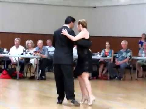 Milonga at Oceanside   Monica Parra y Jorge Olguin   16 July 2016