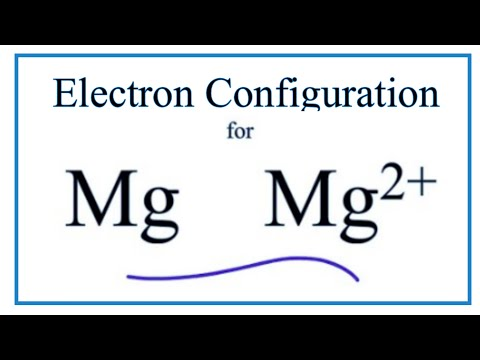 Mg 2+ Electron Configuration (Magnesium Ion)