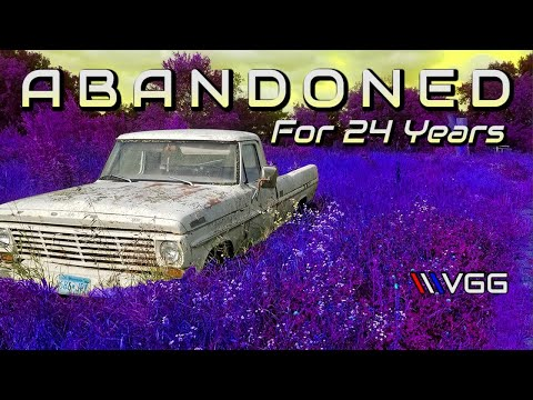 ABANDONED Ford F250 First Start in 24 years - Vice Grip Garage EP39