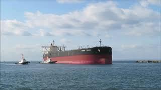 OMEGA TRADER 離岸・出港 Oilタンカー(Crude Oil Tanker)