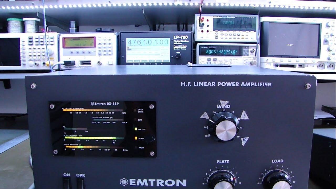ALPHA TELECOM: MANUTENÇÃO AMPLIFICADOR LINEAR EMTRON DX3-SP