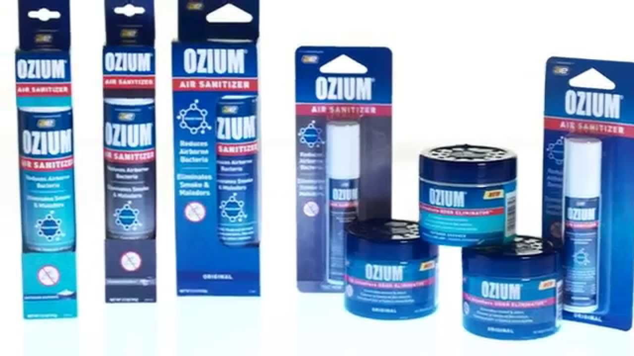 Ozium And Karco Odor Smoke Eliminators