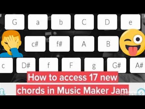 """How to unlock 17 """"hidden"""" harmonies in Music Maker Jam (Tutorial, no hack required) #musicmakerjam"""