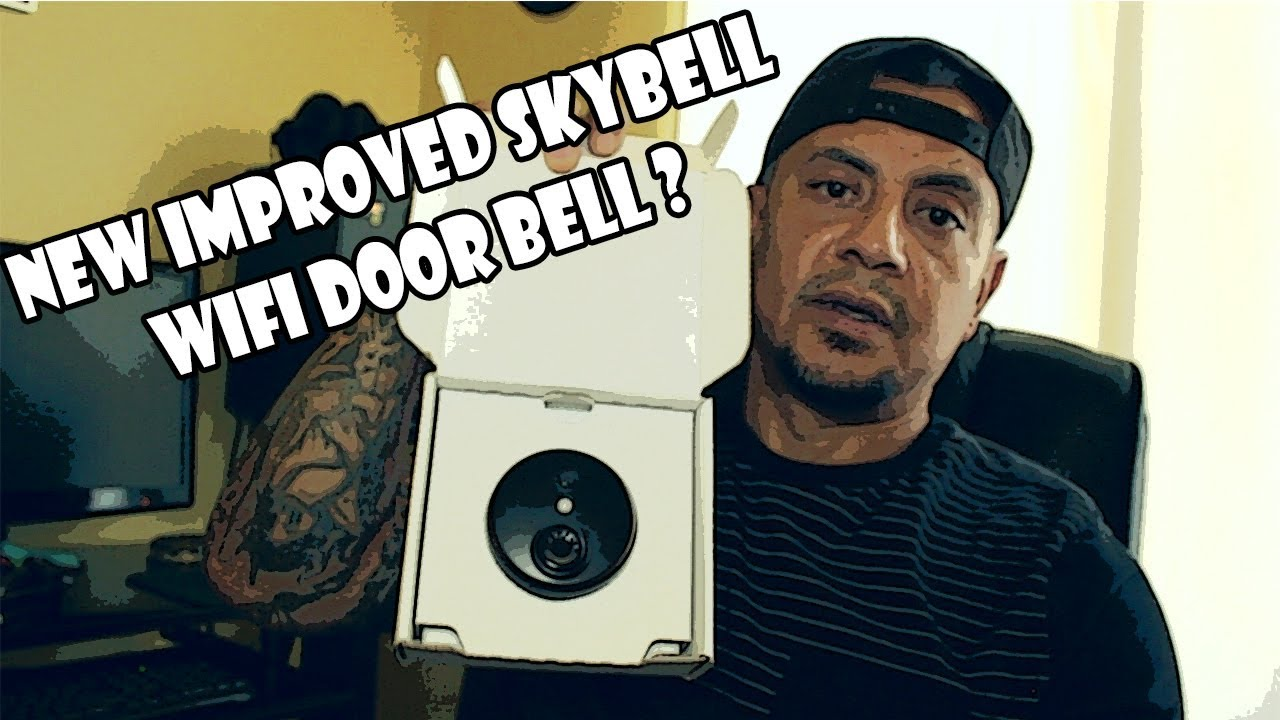hight resolution of new skybell by honeywell install and review