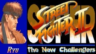 Super Street Fighter II - The New Challengers - Ryu (Arcade)