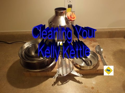 Cleaning your Kelly Kettle