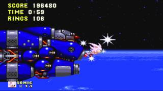 Sonic 3 And Knuckles Final Boss + Good Ending As Sonic HD.