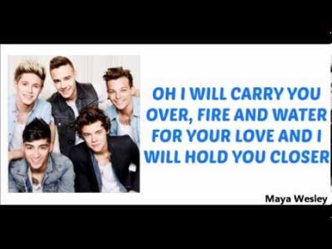 One Direction - Through the Dark (Lyrics and Pictures) (Album Midnight Memories)