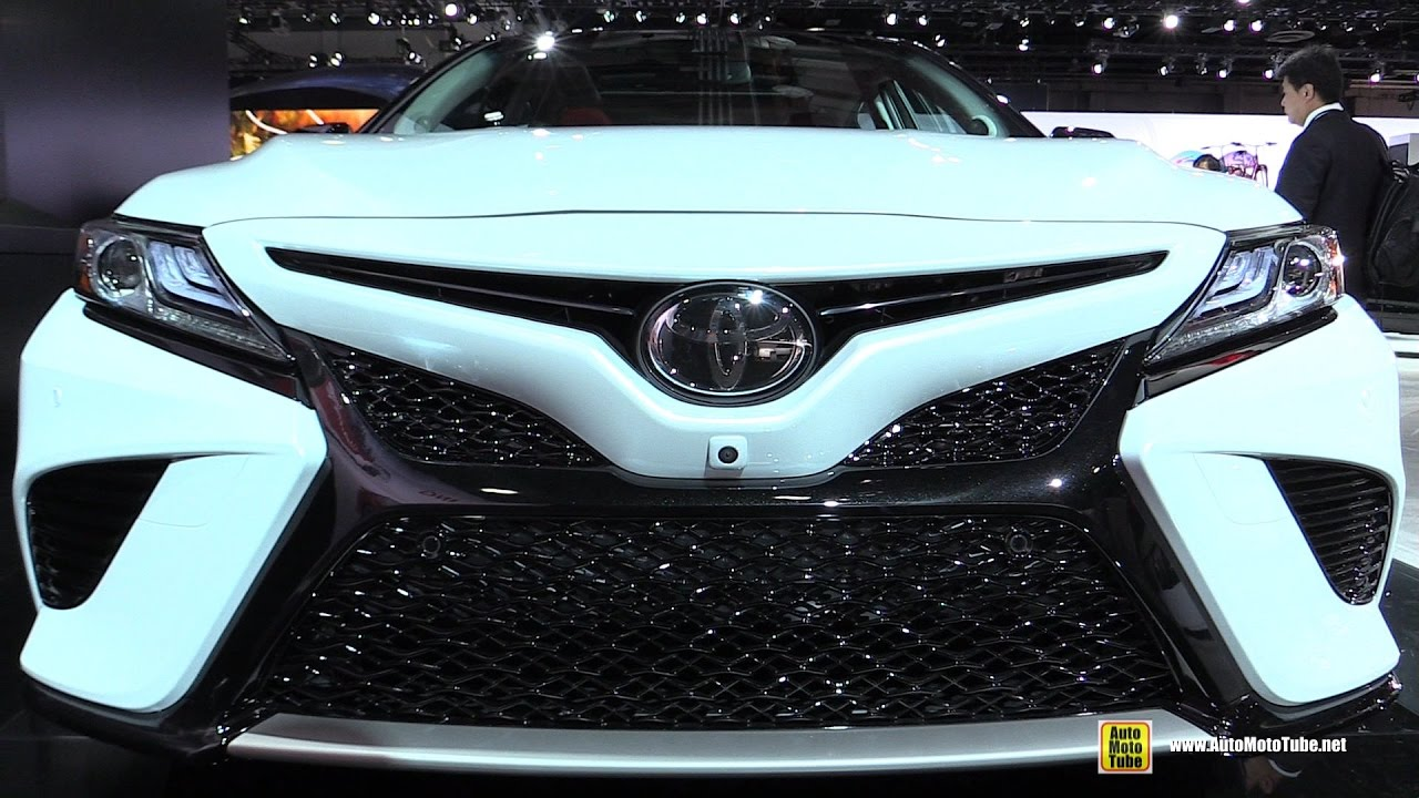 2018 toyota camry exterior and interior walkaround. Black Bedroom Furniture Sets. Home Design Ideas