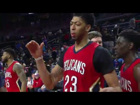 Anthony Davis Scores Franchise-Record 59 Points!