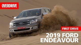 2019 Ford Endeavour first drive review | Specifications, features and price | OVERDRIVE