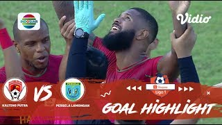 Kalteng Putra (2) vs (0) Persela Lamongan - Goal Highlights | Shopee Liga 1