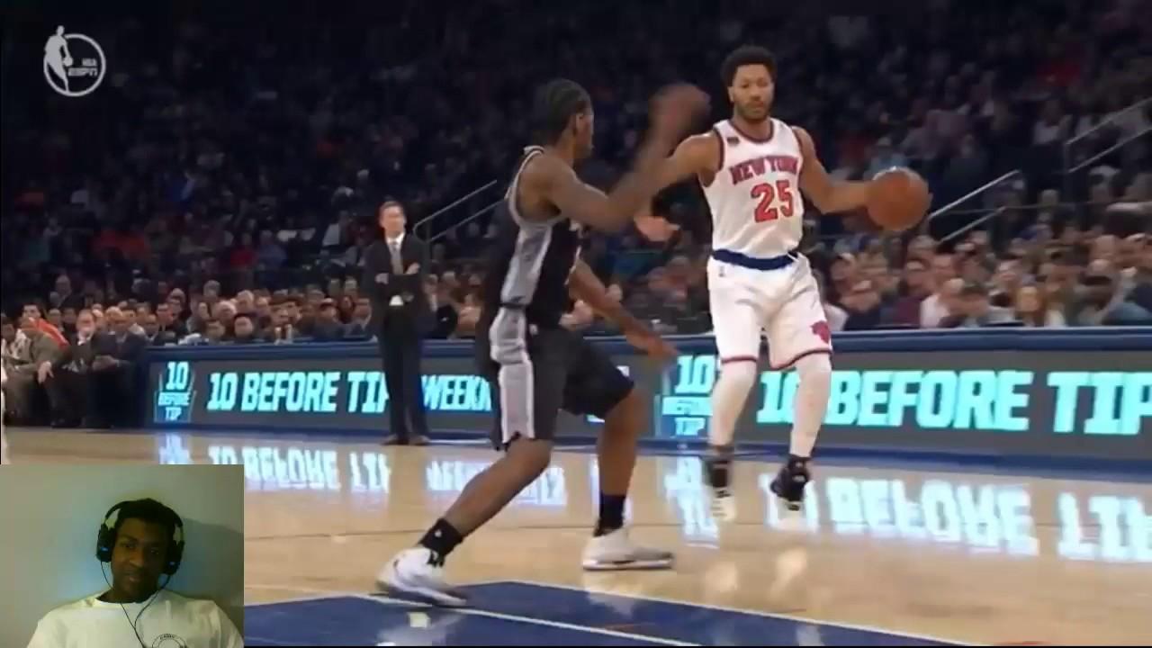 Spurs Vs Knicks Detail: Knicks Vs Spurs Highlights ( Chris Smoove ) REACTION