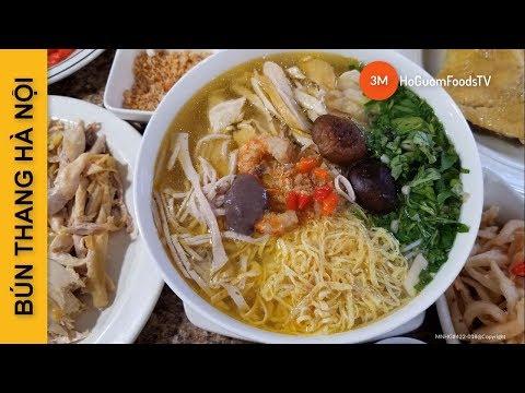Cách làm món BÚN THANG HÀ NỘI (Công thức Cổ truyền)- by Mon ngon Ho Guom