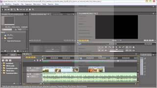 Premiere cs5 - cambiare la velocità delle clip video