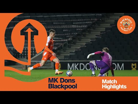Milton Keynes Blackpool Goals And Highlights