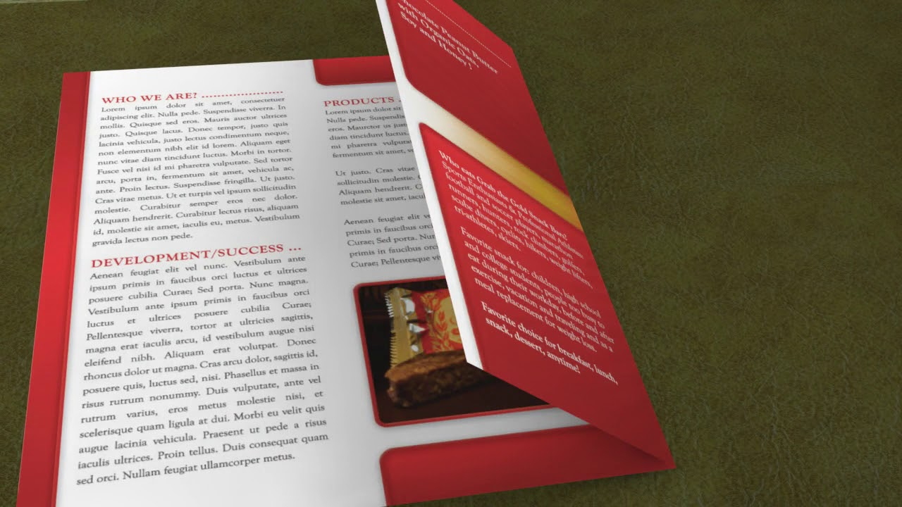 tri fold brochure design costs youtube