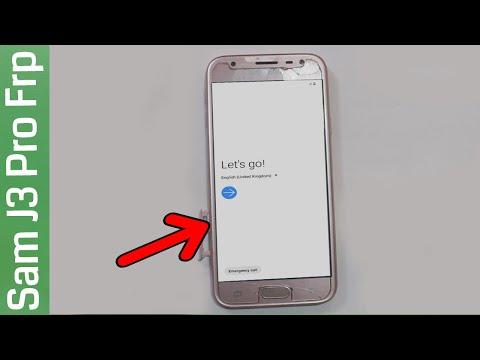 Samsung J3 Pro Google Account Bypass/Unlock Frp Lock 2020 Android 9.1