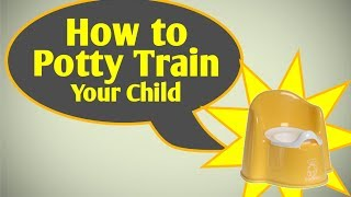 How to potty train In 3 Days