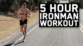 The 5 Hour Workout   Ironman Prep S2.E17