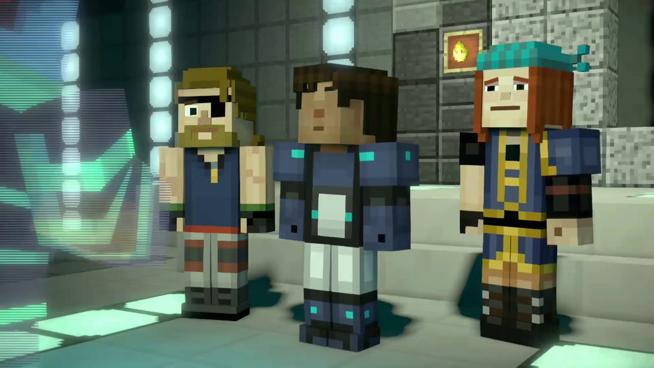 Minecraft Story Mode Word Of Password Puzzle Youtube