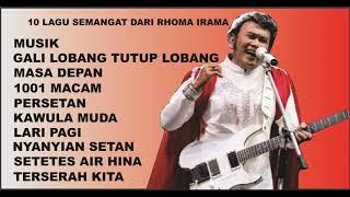 Download Mp3 Rhoma Irama - 10 Lagu Dangdut Semangat Enak Untuk Didengarkan