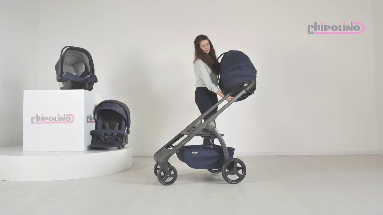 Baby Stroller Aura 3 In 1 Youtube