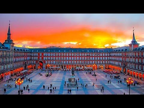 A Walk Around The Plaza Mayor, Madrid
