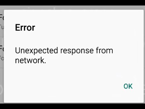 Unexpected response from network error occurred while Updating Call  Forwarding settings in Android