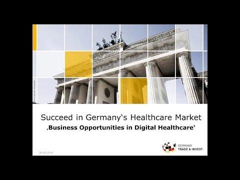 Webinar: Opportunities in German Digital Healthcare (Oct 2014)