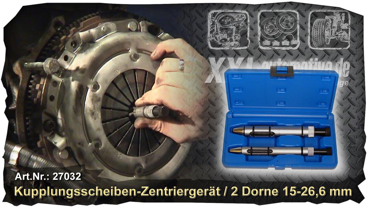 Tarente 17pcs Zentrierdorn Kupplungswerkzeug Satz Kupplungs Installation Werkzeugkupplung Spine Set