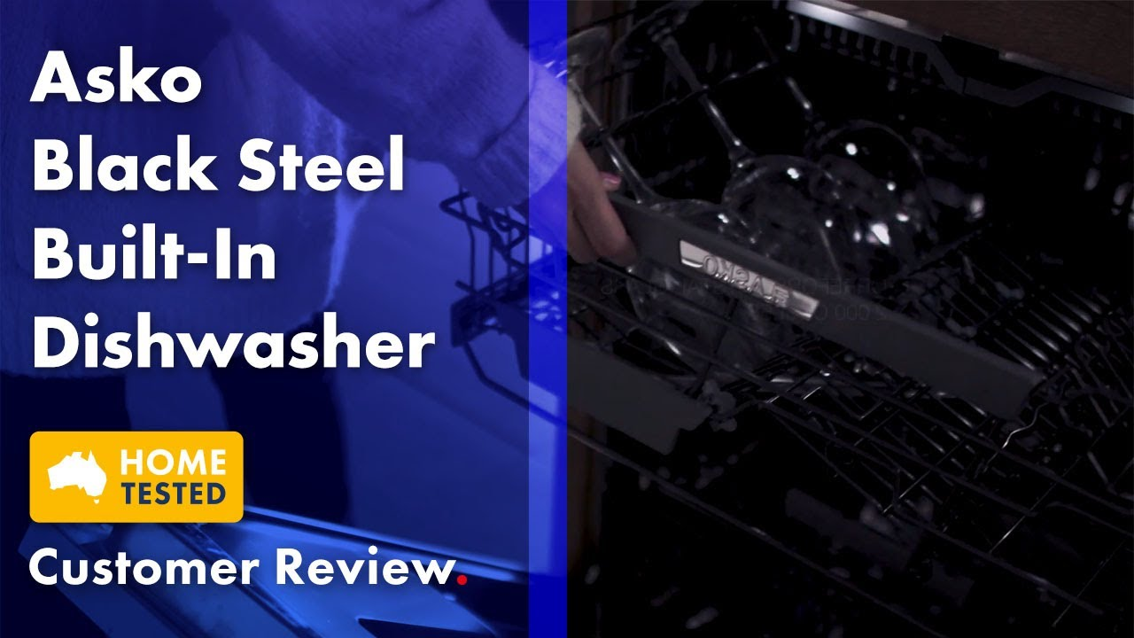 Download Concierge Member Claire Reviews the ASKO Black Steel Built-in Dishwasher | The Good Guys