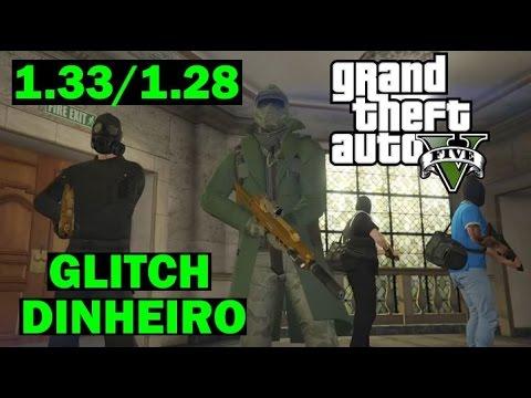 GTA 5 ONLINE GLITCH DINHEIRO Pacific Standard Bank Heist Dicas truques Segredos
