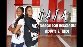 NAJA DANCE  CHOREOGRAPHY FOR BEGGINERS ADULTS AND KIDS