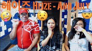 헤이즈 (Heize) - And July (Feat. DEAN, DJ Friz) MV Producer & Family Reaction Resimi