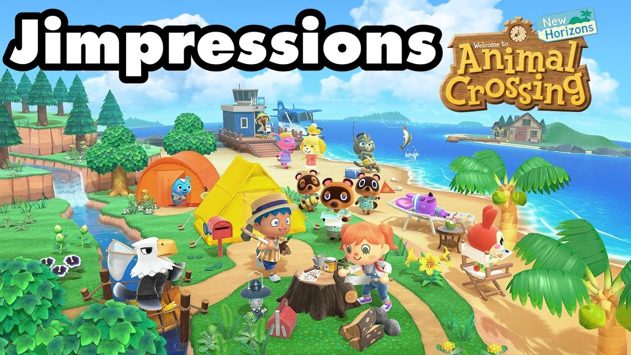 Animal Crossing: New Horizons - It's No Doom Eternal (Jimpressions) (Video Game Video Review)