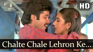 Chalte Chale Lehron Ke Saath (HD) - Saaheb Song - Anil Kapoor - Amrita Singh