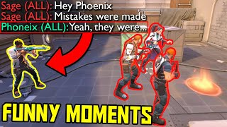 FUNNIEST MOMENTS IN VALΟRANT #62...