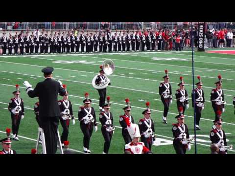 Ohio State Marching Band Entire Pre game Show Ramp and Script Ohio October 29 2016 OSU vs NW