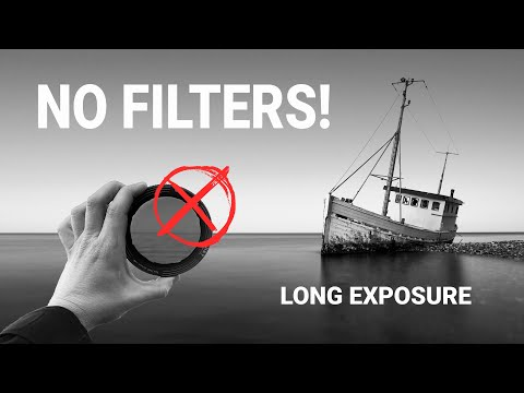 NO Filter LONG EXPOSURE Fine Art Photography Explained!