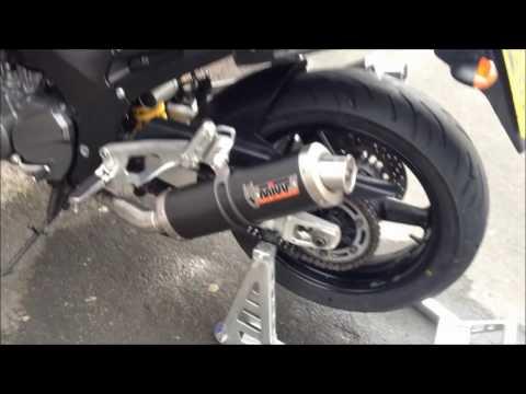 TDM900 Mivv Carbon Exhausts