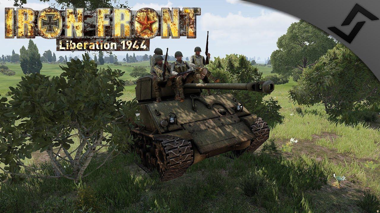 Sherman Firefly vs German Tank Division - ArmA 3 IFA WW2 Mod - WW2 Tank  Gameplay 1440p60