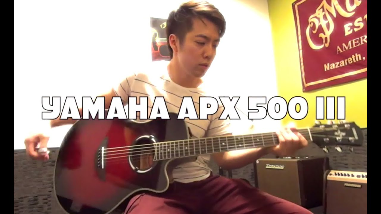 yamaha apx 500 iii youtube. Black Bedroom Furniture Sets. Home Design Ideas